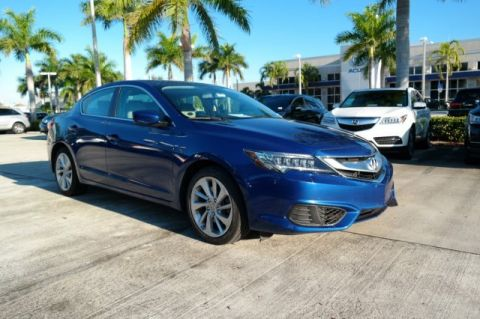 Certified Pre-Owned 2017 Acura ILX Premium Package