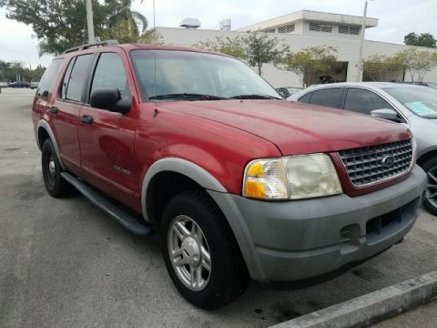 Pre-Owned 2002 Ford Explorer XLS