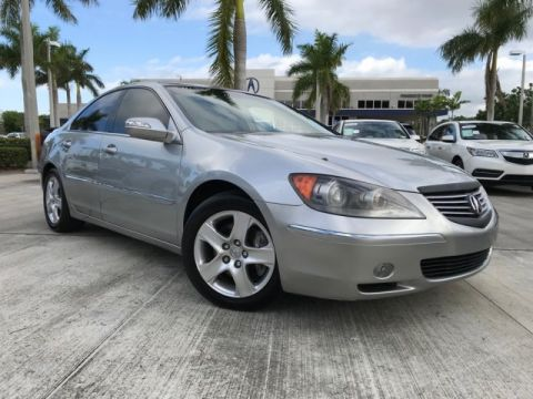 Certified Used Acura RL Tech Pkg