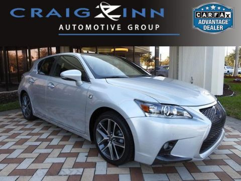 Certified Used Lexus CT 200h HYBRID