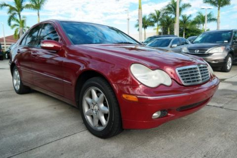Pre-Owned 2002 Mercedes-Benz C-Class C 320