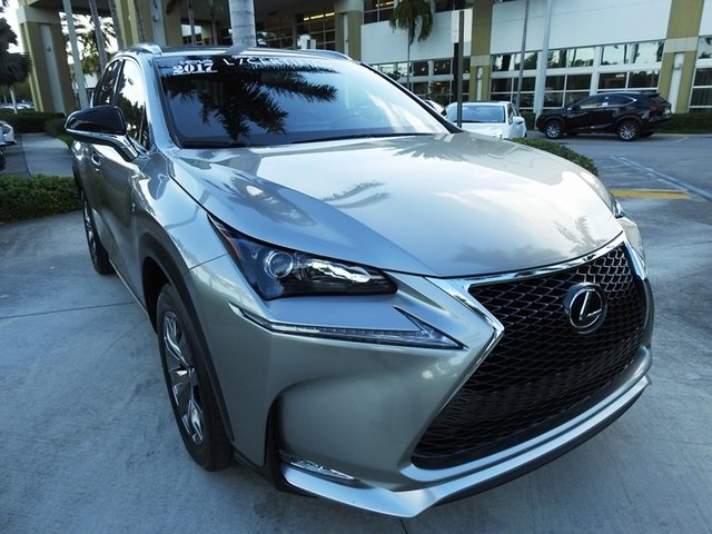 Pre Owned 2017 Lexus Nx 200t F Sport 4d Sport Utility In Hollywood