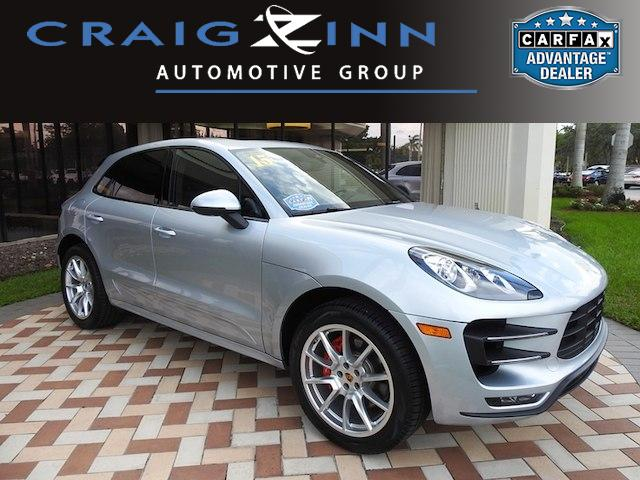 Pre Owned 2015 Porsche Macan Turbo Suv In Hollywood L907600