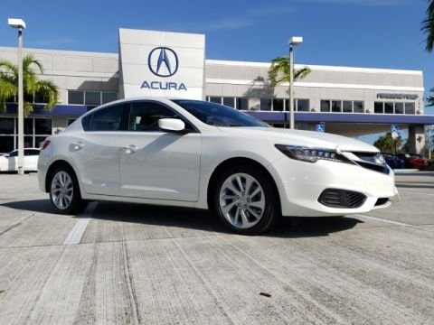 Certified Pre-Owned 2018 Acura ILX Premium Package