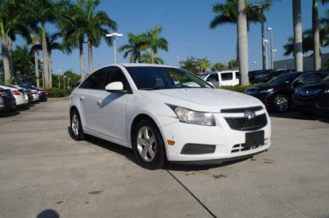 Pre-Owned 2012 Chevrolet Cruze LT w/1FL
