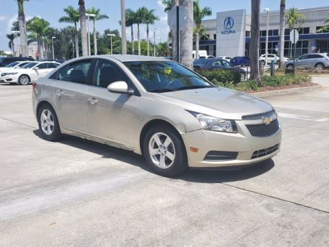 Pre-Owned 2013 Chevrolet Cruze LT