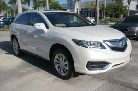 Certified Pre-Owned 2017 Acura RDX w/Technology/AcuraWatch Plus Pkg