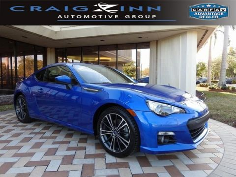 Certified Pre-Owned 2015 Subaru BRZ Limited